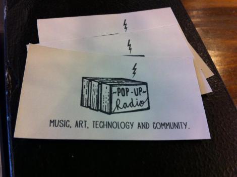 Pop Up Radio Image